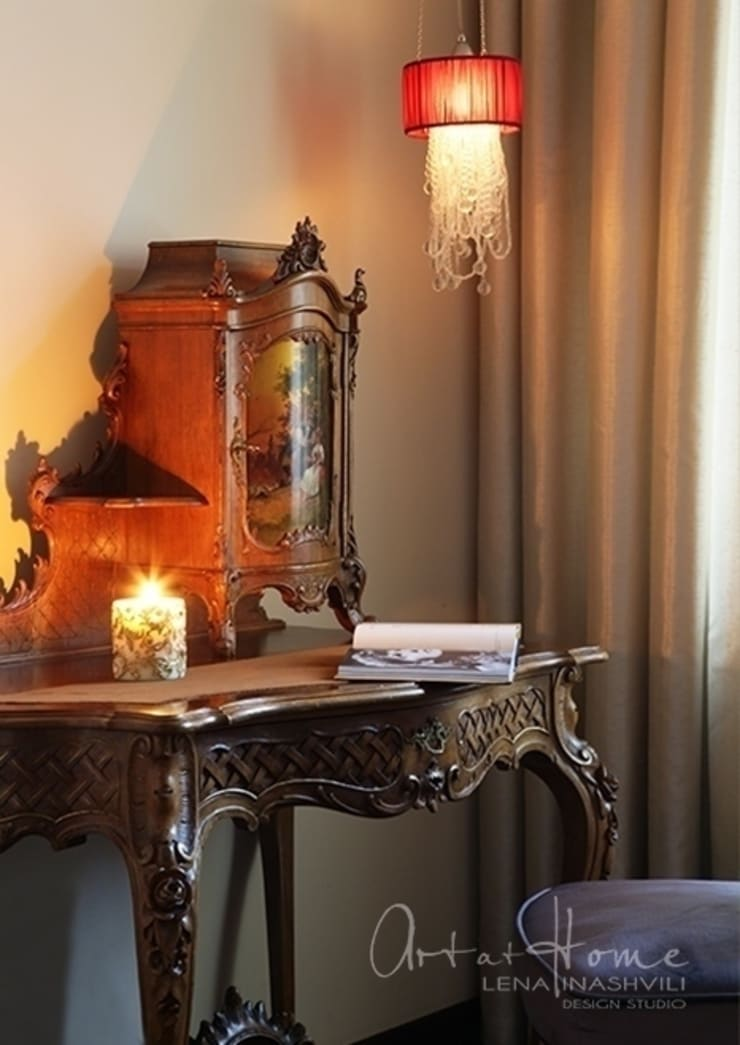 """ Nostalgia Museo del Prado ""  Квартира в Москве: Гостиная в . Автор –   Лена Инашвили  Art at Home"