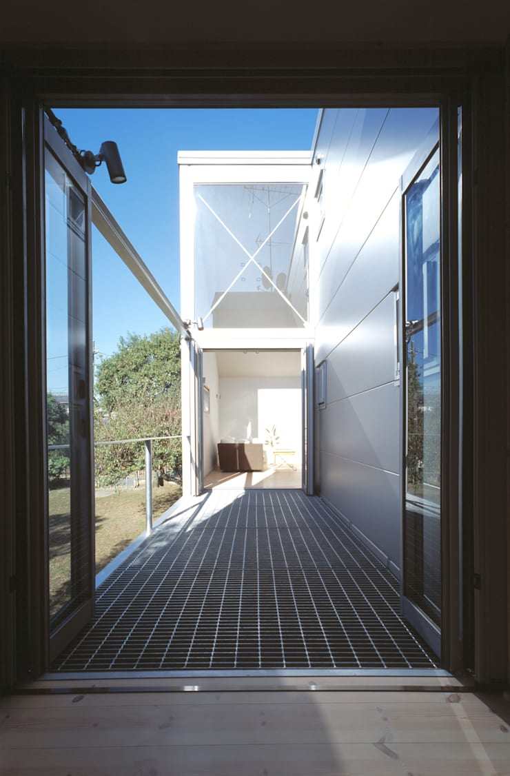 借景の家 ミニマルデザインの テラス の 充総合計画 一級建築士事務所 ミニマル