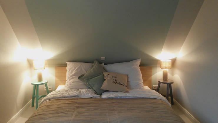 Ferienhaus Föhr neu:  Schlafzimmer von Ilka Mehrtens Paulsieg | unique room art