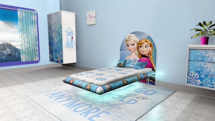 Frozen MESO:  Bedroom by Levitas Design