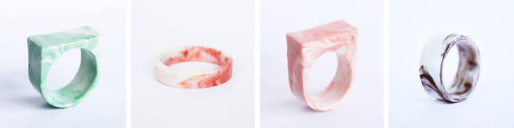 STOOK ringen :  Woonkamer door studio Mianne de Vries
