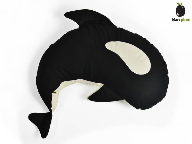 Zalotna Orka - poduszka do karmienia: styl , w kategorii Pokój dziecięcy zaprojektowany przez Black Plum