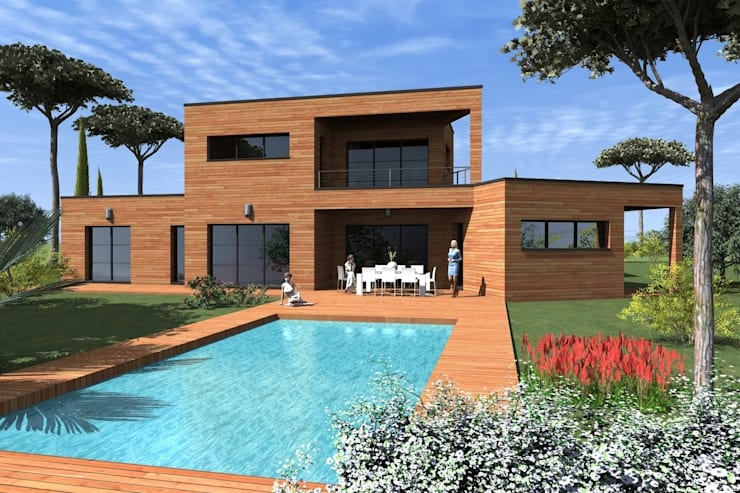 Plan Dakota Villa Contemporaine By Construire Online Homify