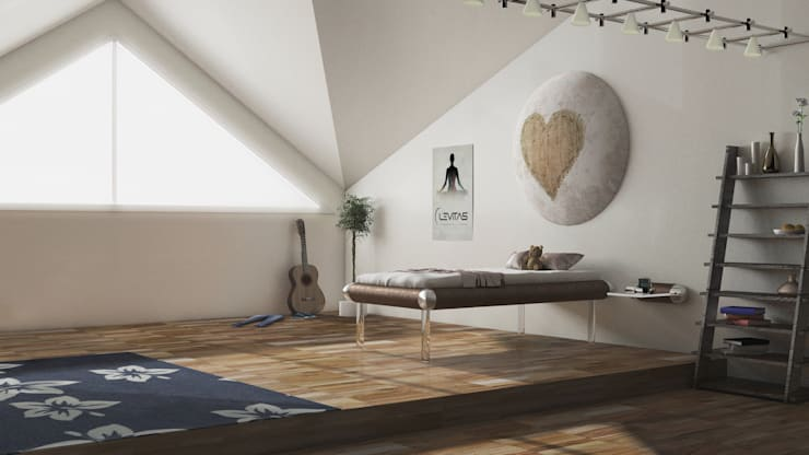 Teen MESO:  Bedroom by Levitas Design