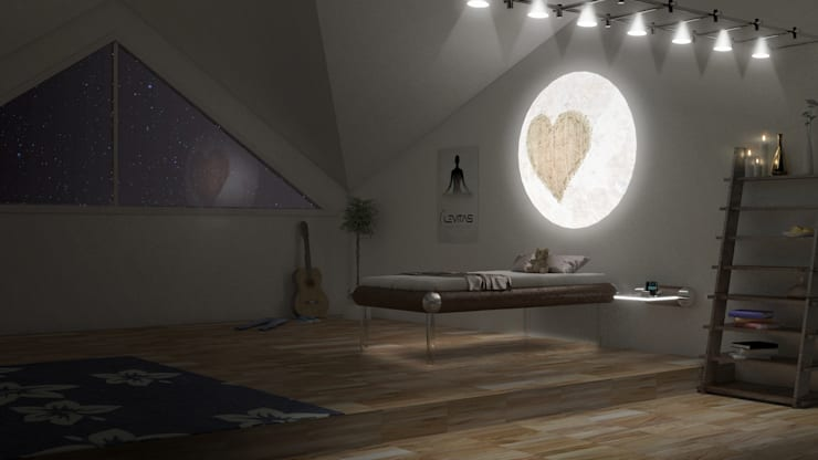Teen MESO Night:  Bedroom by Levitas Design