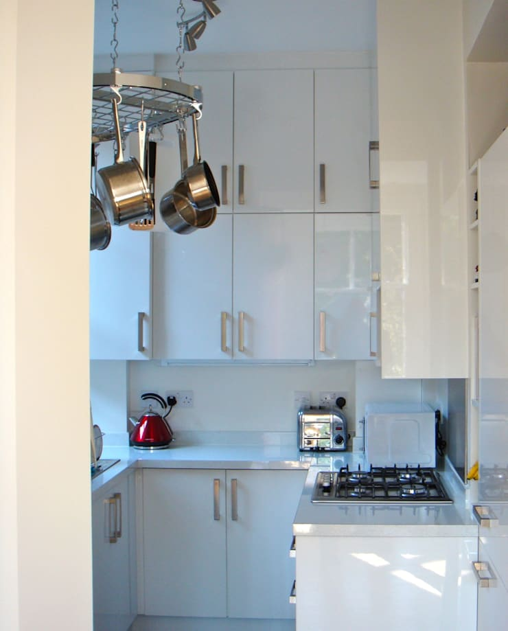 Anson Road, London:  Kitchen by Fit Architects, Modern