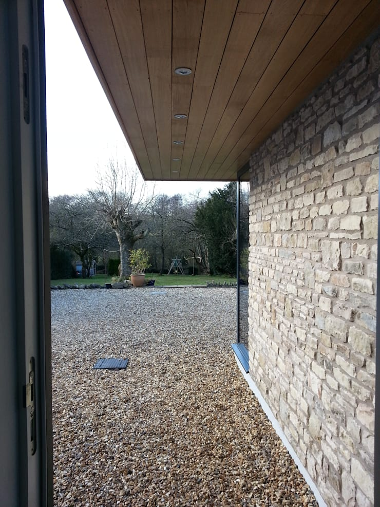 Chilcompton—house extension and remodelling:  Garden by Fit Architects, Modern