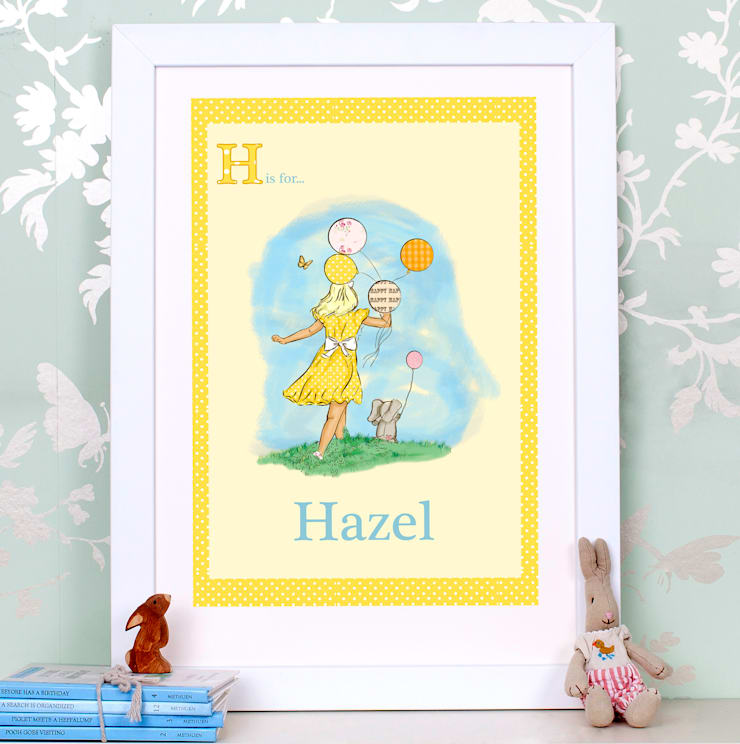 Balloon Art print for a girl's room: classic  by Buffer , Classic