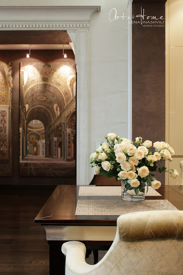 """<q class=""""-first"""">IMPERIAL</q>  Квартира в Москве : Кухня в . Автор –   Лена Инашвили  Art at Home"""