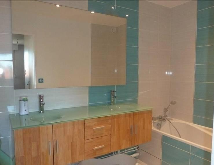 Aprés salle de bain:  de style  par Les cuisines d'Arno