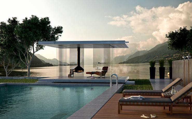 Glas Pavillon360:  Garten von Glas Marte