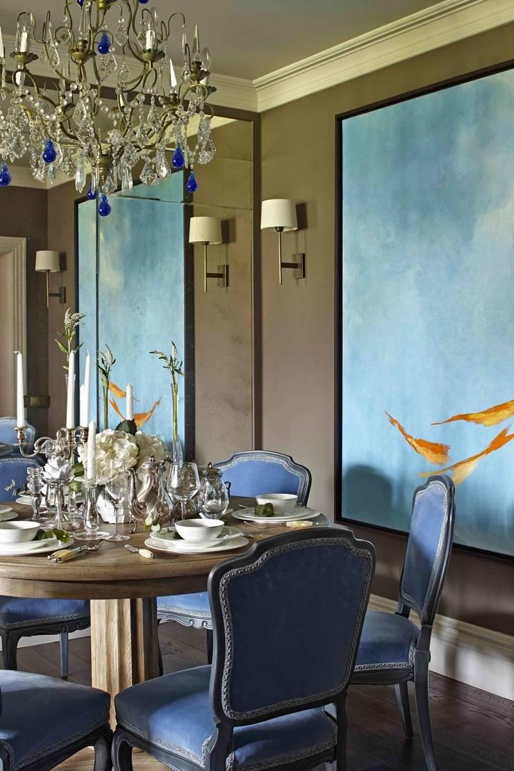 Столовая: Столовые комнаты в . Автор – Chdecoration