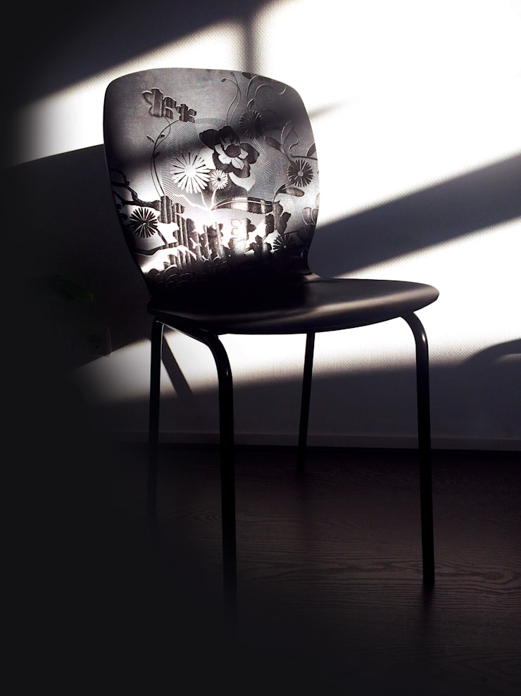 YOURS stoel • ontwerpstudio Roi de Bruijn:  Woonkamer door ontwerpstudio Roi de Bruijn