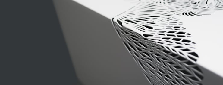 Paradise Table • Salontafel • Wit [detail] - • coffee table [detail]: modern  door ontwerpstudio Roi de Bruijn, Modern