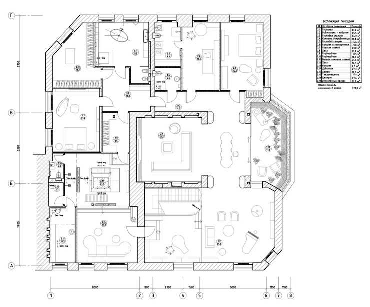 план:  в . Автор – VOX Architects