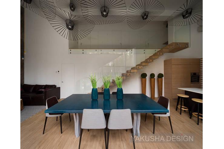 Кухни в . Автор – Yakusha Design, Минимализм