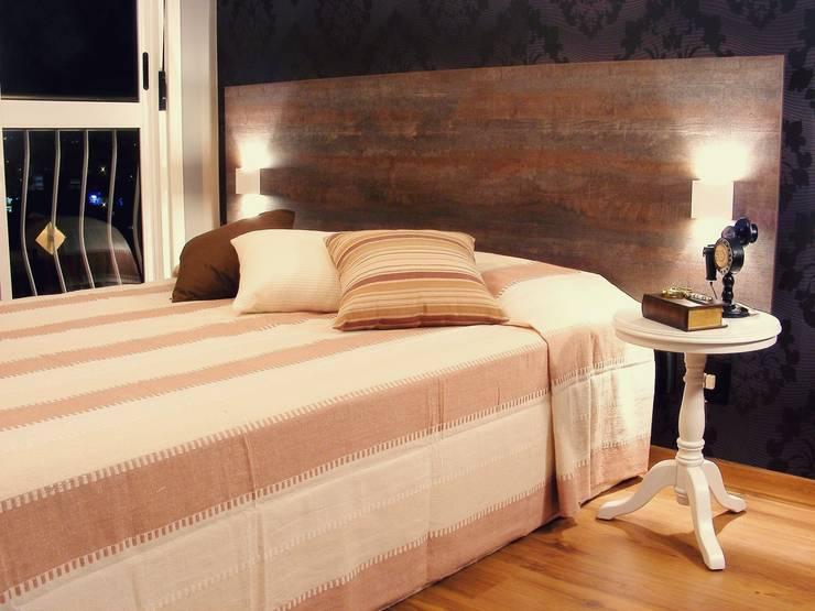 Dormitório Masculino | Petrópolis: Quartos  por Monte Arquitetura,