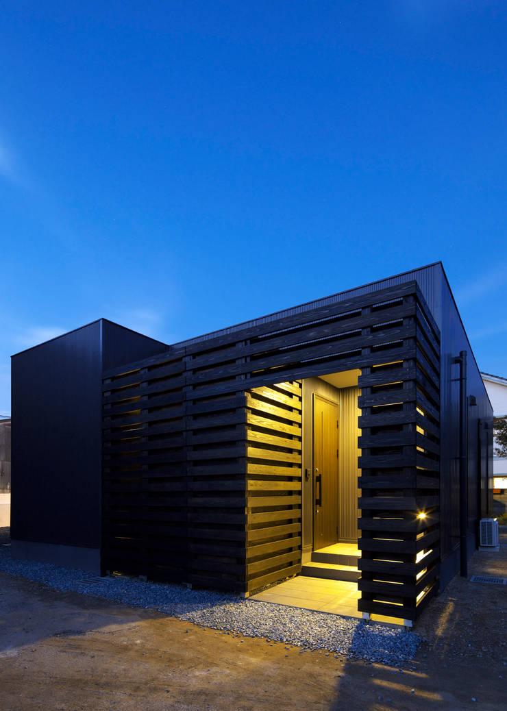 外観: 那波建築設計 NABA architectsが手掛けた家です。