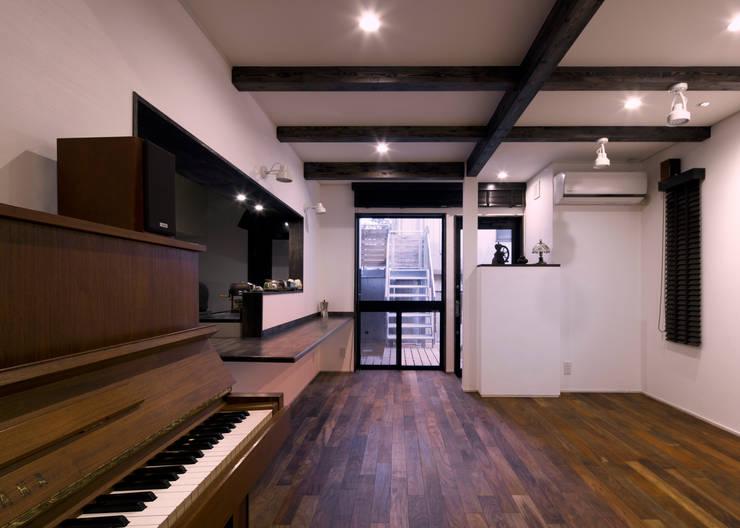 カフェ: 那波建築設計 NABA architectsが手掛けた和室です。