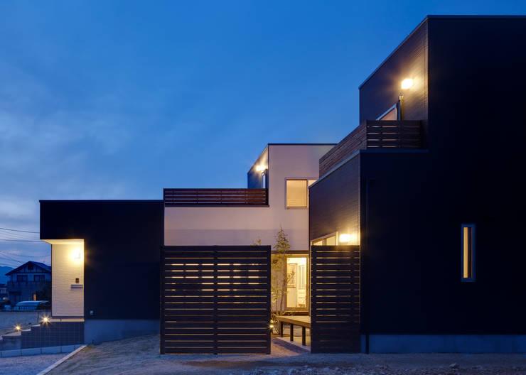 外観 モダンな 家 の 那波建築設計 NABA architects モダン