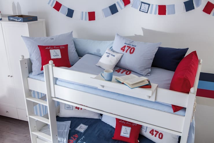 Bettwäsche Sailing:  Kinderzimmer von annette frank gmbh