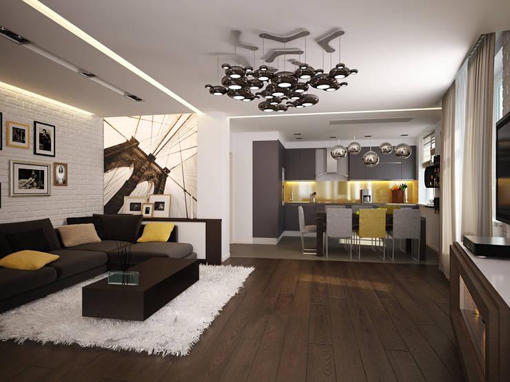 Tерраса в . Автор – Polovets design studio
