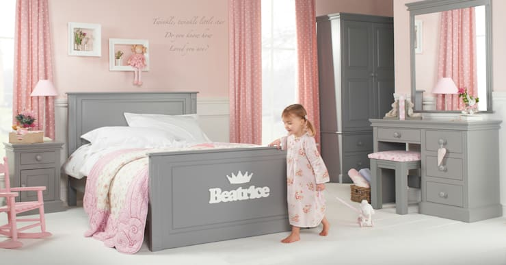 Archie Fairweather High Foot End Bed: classic  by Little Lucy Willow, Classic