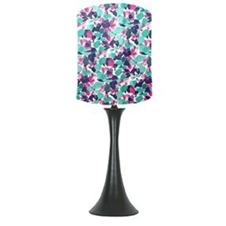Pink & purple lampshade: classic  by bymarie, Classic