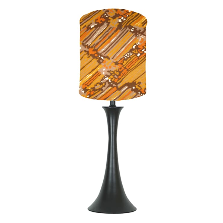 orange abstract lampshade: classic  by bymarie, Classic