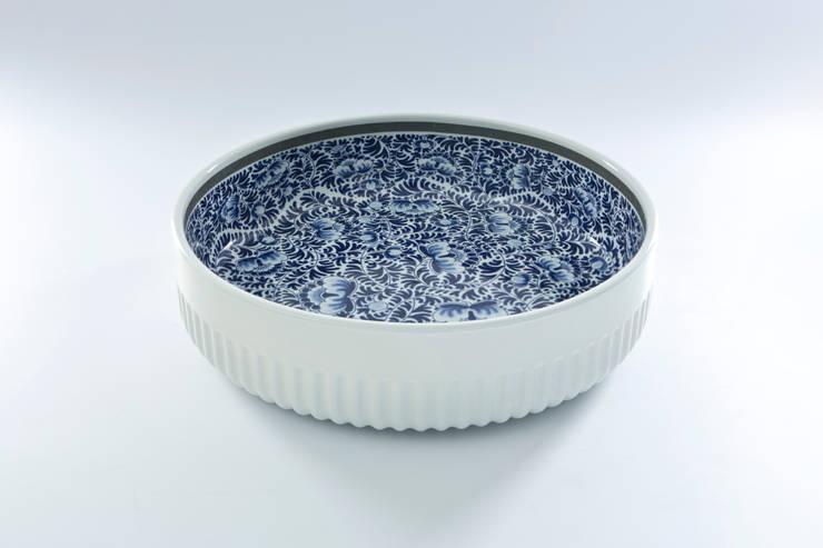 Blue Collar Bowls:  Eetkamer door Royal Delft