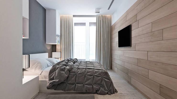 Квартал Декабристов/спальня: Спальни в . Автор – Студия архитектуры и дизайна artugol