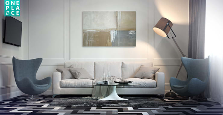 Salones de estilo  de OnePlace studio interior design