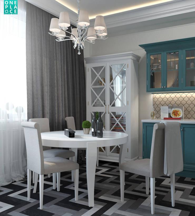 Однушка на 78 м. кв.: Кухни в . Автор – OnePlace studio interior design