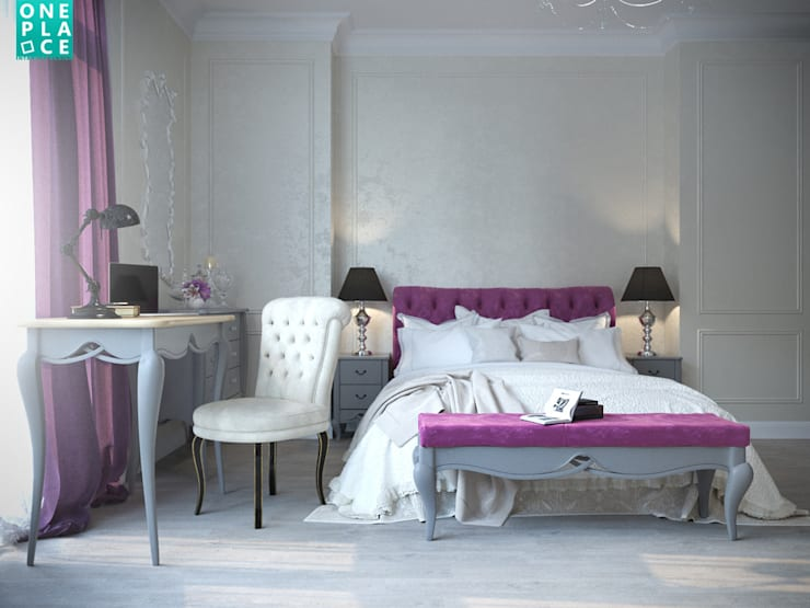 Bedroom by OnePlace studio interior design