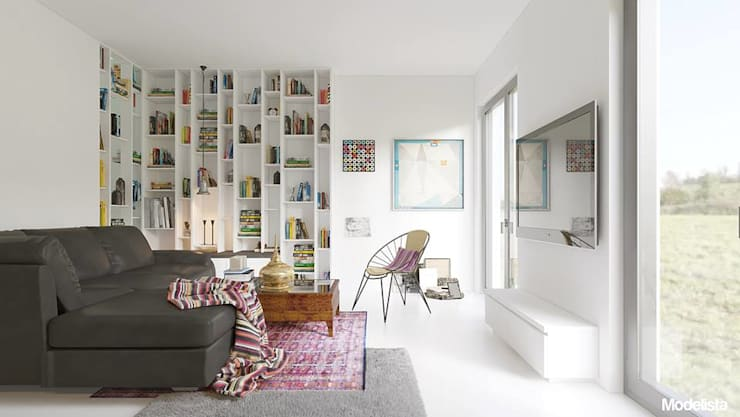 Mieszkanie na Biskupinie we Wrocławiu: styl , w kategorii  zaprojektowany przez Modelista,