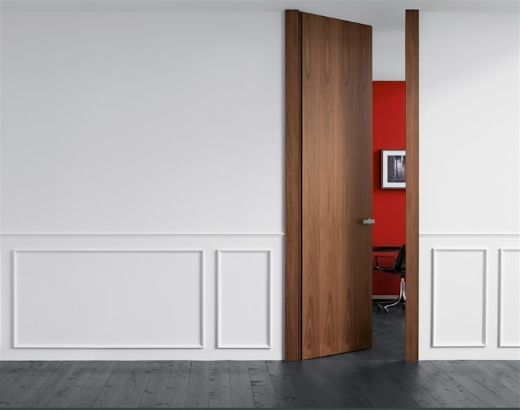 Puerta Lualdi Filo: Ventanas de estilo  de Timberplan