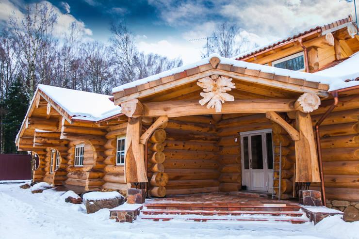Дом в Пушкино: Дома в . Автор – Роял Вуд,