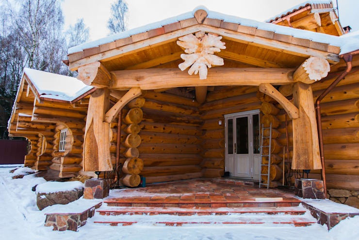 Дом в Пушкино: Дома в . Автор – Роял Вуд
