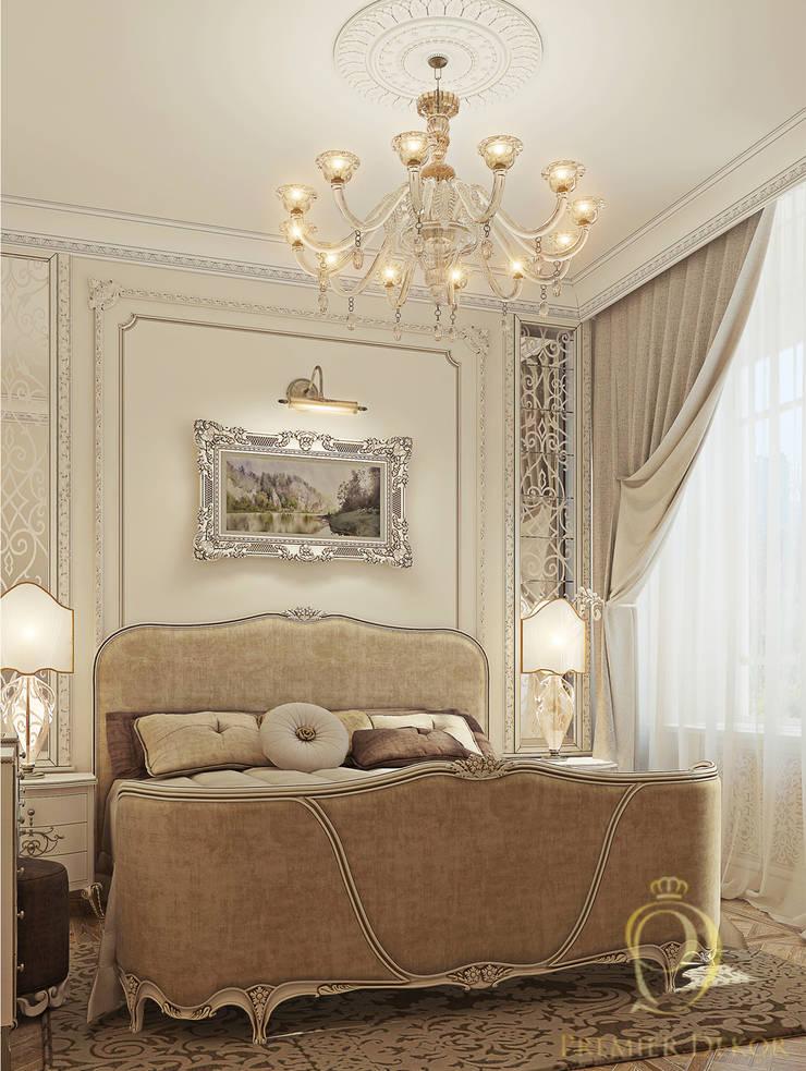 Белое золото: Спальни в . Автор – Premier Dekor