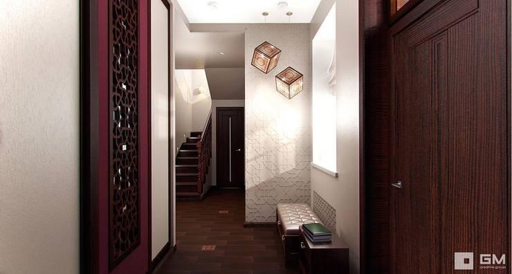 Интерьер дома в восточном стиле : Коридор и прихожая в . Автор – GM-interior