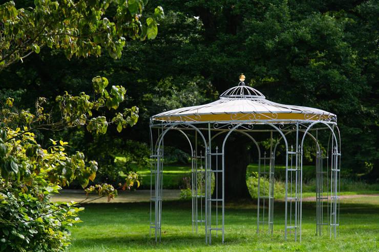 Gartenpavillon Eleganz 350cm Zink:  Garten von Holz-Wohn-Bau GmbH - kuheiga.com