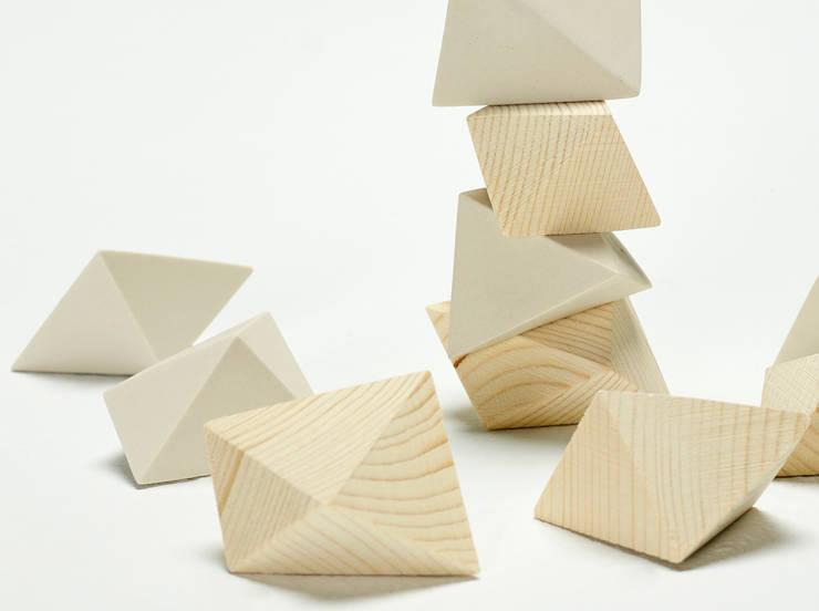 Metot – The  sculpture game: Hogar de estilo  de Juan Ruiz-Rivas Estudio