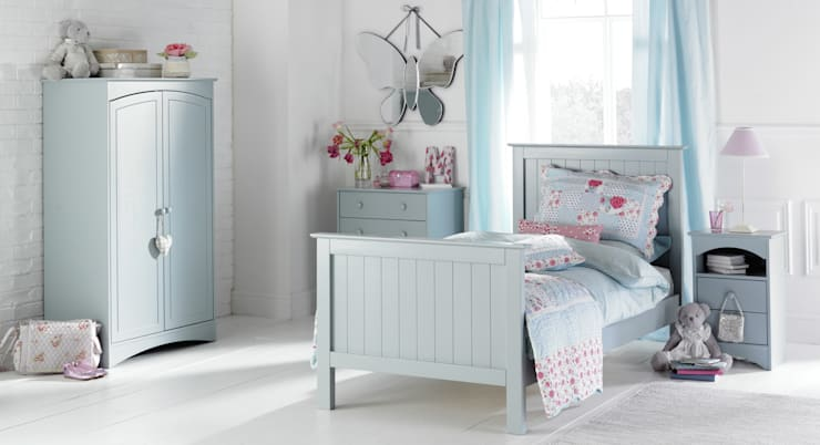 Barney and Boo High Foot End Bed: classic  by Little Lucy Willow, Classic