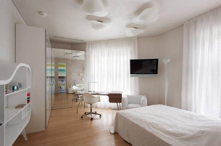 Dormitorios de estilo minimalista de VOX Architects Minimalista
