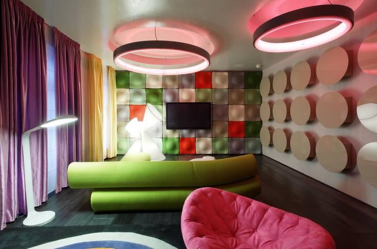 Пентхаус на Арбате: Детские комнаты в . Автор – VOX Architects