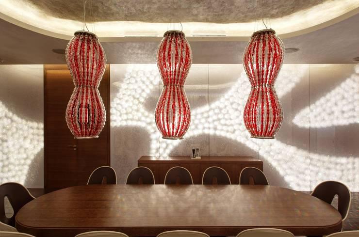 Пентхаус на Арбате: Столовые комнаты в . Автор – VOX Architects