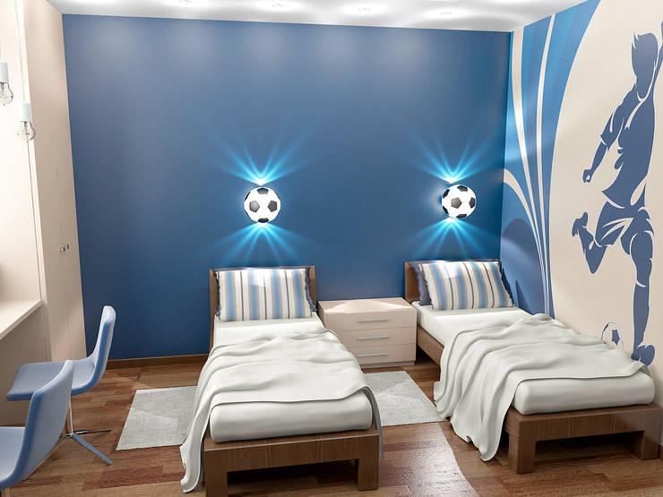 Восточные нотки: Детские комнаты в . Автор – Проектное бюро O.Diordi