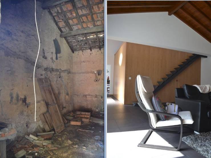 Casa Duarte:   por doisarquitectos . Alexandre e Costa