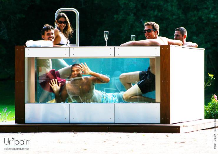 Zwembad door Ur-bain