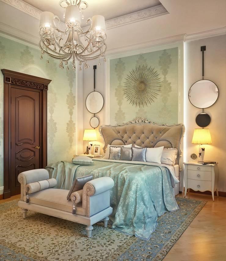Спальня в классическом стиле: Спальни в . Автор – Sweet Home Design